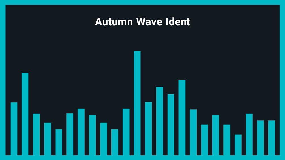 موزیک زمینه لوگو با صدای موج Autumn Wave Ident