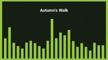 موزیک زمینه احساسی با پیانو Autumn's Walk
