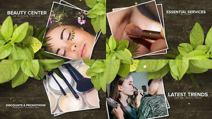 پروژه افترافکت تیزر تبلیغاتی سالن زیبایی Beauty Center