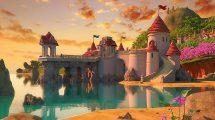 صحنه آماده سه بعدی قلعه کارتونی Cartoon Castle Scene