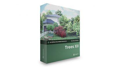 مجموعه مدل سه بعدی درخت CGAxis Models Volume 109 Trees