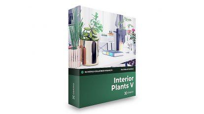 مجموعه مدل سه بعدی گیاهان آپارتمانی CGAxis Models Volume 111 Interior