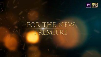 پروژه پریمیر نمایش عناوین تریلر سینمایی Cinematic Trailer Titles Pro