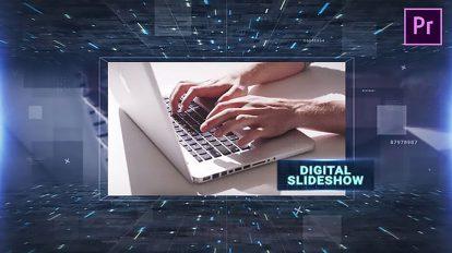 پروژه پریمیر اسلایدشو دیجیتال Digital Slideshow