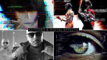 پروژه افترافکت افکت های ویدیویی دیجیتال Digital Video Effects