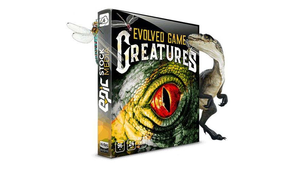 مجموعه افکت صوتی موجودات Evolved Game Creatures
