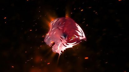 پروژه افترافکت نمایش لوگو با انفجار آتشی Explosion Fire Logo