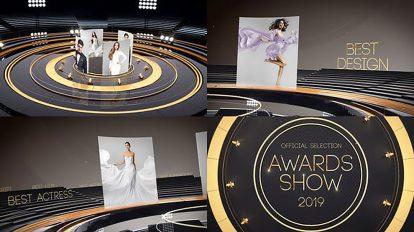 پروژه افترافکت تیزر تبلیغاتی مراسم جوایز Golden Awards Promo