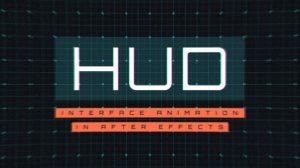 دوره آموزشی ساخت انیمیشن رابط کاربری HUD در افترافکت