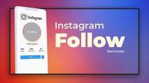 پروژه افترافکت معرفی اکانت اینستاگرام Instagramer