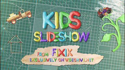 پروژه افترافکت اسلایدشو کودکان Kids Slideshow