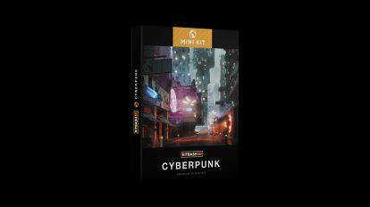 مجموعه مدل سه بعدی سایبرپانک Kitbash3D Mini Kit Cyberpunk