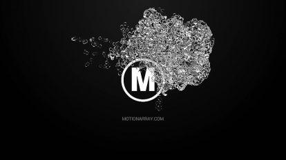 پروژه پریمیر مجموعه نمایش لوگو با حرکت آب Liquid Logo Pack