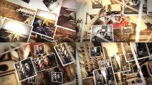 پروژه افترافکت اسلایدشو خاطرات Memories Parallax Slideshow