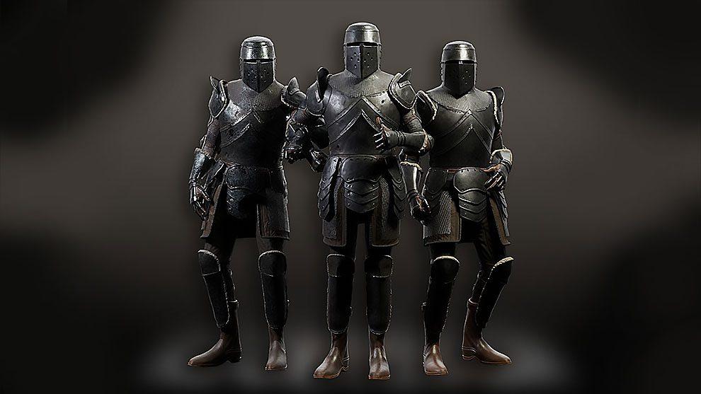 مدل سه بعدی شوالیه زره پوش Knight Armour