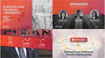 پروژه افترافکت تیزر تبلیغاتی کنفرانس Promo Event Presentation