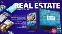 پروژه افترافکت تیزر تبلیغاتی مشاور املاک Real Estate Gallery