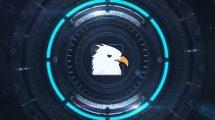 پروژه افترافکت نمایش لوگو هایتک Sci-Fi Logo Opener