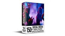 پروژه پریمیر اجزای ویدیویی شبکه اجتماعی Social Media FX Pack