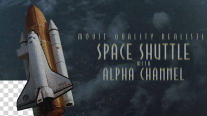 مجموعه ویدیوی موشن گرافیک شاتل فضایی Space Shuttle