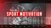 پروژه افترافکت برودکست ورزشی Sport Motivation
