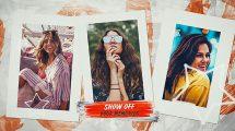 پروژه افترافکت اسلایدشو عکس Summer Photo Slideshow