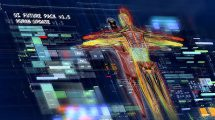 پروژه افترافکت مجموعه اینفوگرافیک رابط کاربری UI Future Pack