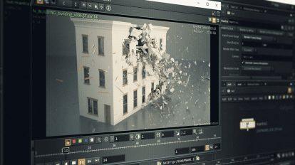 دوره آموزشی شبیه سازی تخریب ساختمان با هودینی