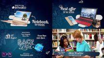 پروژه افترافکت برودکست بازگشت به مدرسه Back2School Broadcast Pack