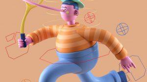 پلاگین سینمافوردی Bendy Limbs Rig ابزار ریگ کاراکتر برای موشن گرافیک