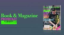 پروژه افترافکت تیزر تبلیغاتی کتاب و مجله Book and Magazine Promo Kit