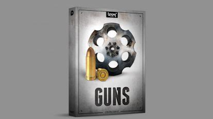 مجموعه افکت صوتی اسلحه Boom Library Guns Construction Kit