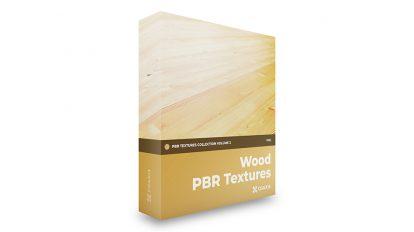 مجموعه تکسچر واقعگرایانه چوب CGAxis PBR Textures Volume 2 Wood