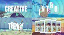 پروژه افترافکت افتتاحیه سریع Creative Intro