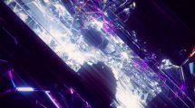 پروژه سینمافوردی زمینه متحرک کریستالی Crystal Dust