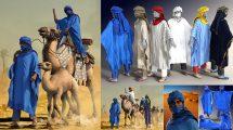 مدل سه بعدی لباس مرد مراکشی dForce Moroccan Blue Man Outfit for Genesis 8