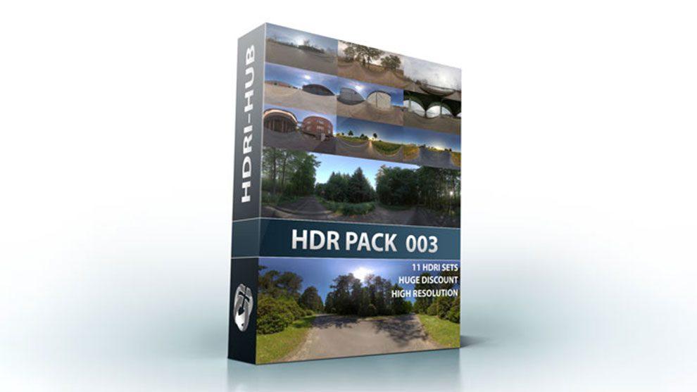 مجموعه تصاویر محیط خیابان و جاده HDRI Hub HDR Pack 003