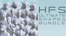 مجموعه پریست شکل بدن HFS Ultimate Shapes Bundle