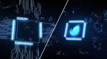 پروژه افترافکت نمایش لوگو هایتک Hi-Tech Logo Opener