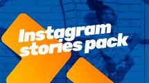 پروژه افترافکت مجموعه استوری اینستاگرام Instagram Bundle