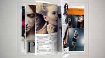 پروژه افترافکت تیزر تبلیغاتی مجله Magazine Animation Pro
