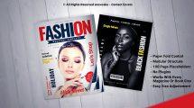 پروژه افترافکت تیزر تبلیغاتی مجله Magazine Promo