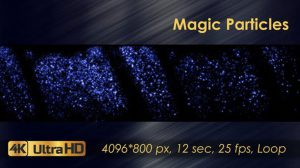 ویدیوی موشن گرافیک ذرات پارتیکلی Magic Particles