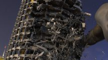 دوره آموزشی پیشرفته شبیه سازی تخریب ساختمان با هودینی