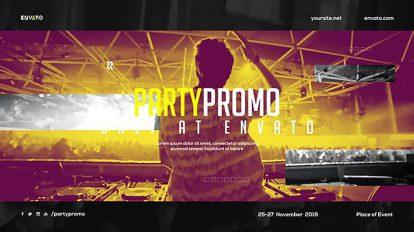 پروژه افترافکت تیزر تبلیغاتی کنسرت موسیقی Music Event Promo