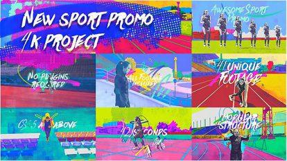 پروژه افترافکت تیزر تبلیغاتی ورزشی New Sport Promo