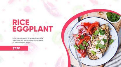 پروژه افترافکت تیزر تبلیغاتی رستوران Restaurant Food Menu Promo
