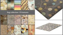 مجموعه مدل سه بعدی فرش Rugs Textures Collection