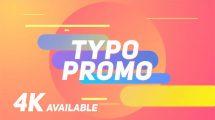 پروژه افترافکت تیزر تبلیغاتی کوتاه با تایپوگرافی Short Typo Promo