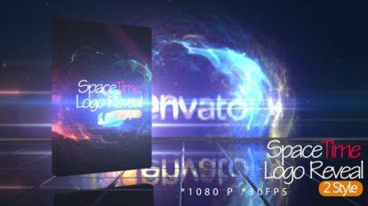 پروژه افترافکت نمایش لوگو فضا زمان SpaceTime Logo Reveal